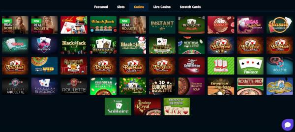Slotzo-casino-sister-sites-Table-Games
